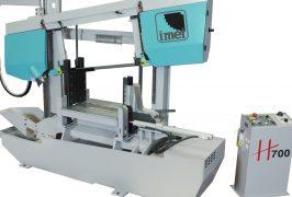 IMET H 700 Semiautomatic twin column bandsaw
